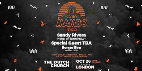 Cafe Mambo Ibiza London Halloween at The Church tickets