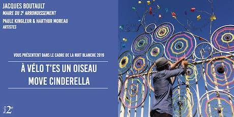 """Nuit Blanche 2019 - Ateliers """"A vélo, t'es un oiseau"""" - 1 billets"""