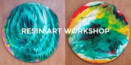 Resin Art Workshop tickets