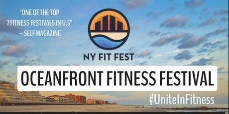 NY FIT FEST OCEANFRONT FITNESS AND WELLNESS FESTIVAL tickets