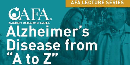 "Alzheimer's Disease from ""A to Z"""