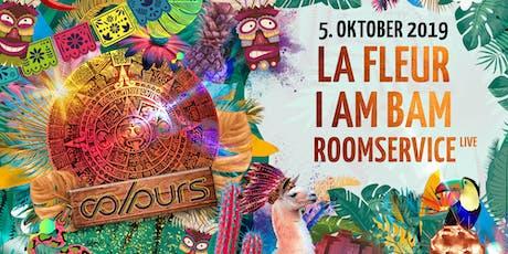 Colours with La Fleur, I AM BAM, Roomservice -live- Tickets