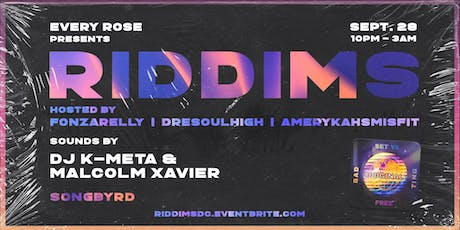 RIDDIMS tickets