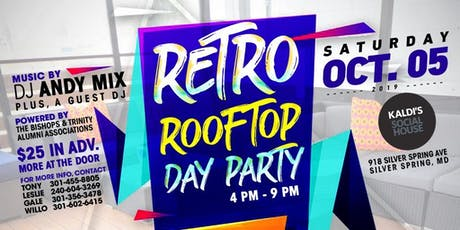 Retro Rooftop Day Party tickets