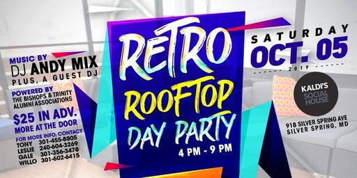 Retro Rooftop Day Party