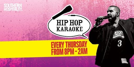 Hip Hop Karaoke at The Queen of Hoxton