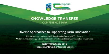 UCD Teagasc Knowledge Transfer Conference 2019 tickets