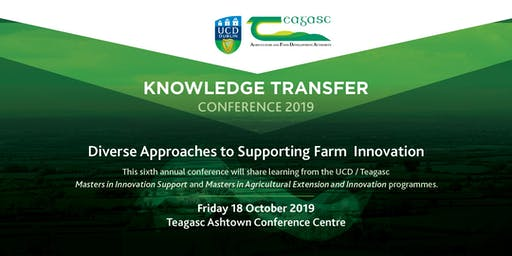 UCD Teagasc Knowledge Transfer Conference 2019