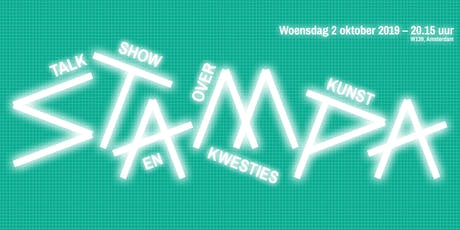Stampa #11 - Talkshow over kunst en kwesties tickets