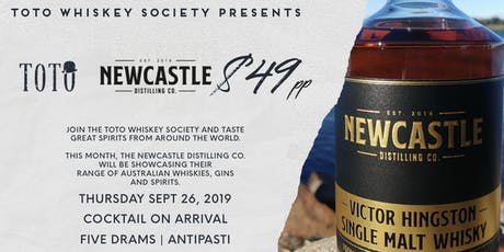 Toto Whiskey Society - Newcastle Distilling Co. tickets