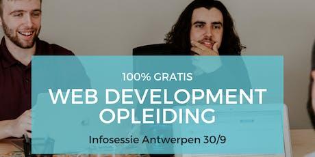 Infosessie BeCode Antwerpen 3.0 tickets
