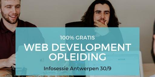 Infosessie BeCode Antwerpen 3.0