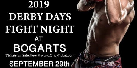 Live boxing at Bogarts Derby Days (this is not a ticket) tickets