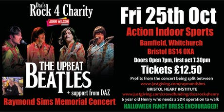 Raymond Sims Memorial Concert / Upbeat Beatles tickets