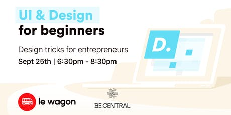 UI & design for beginners tickets