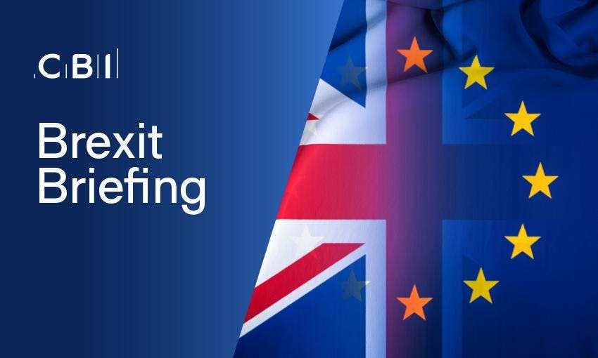Brexit Briefing  for Trade Associations