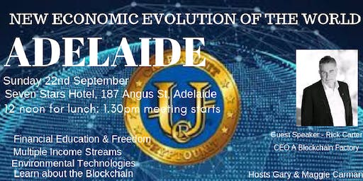 SWIG Adelaide The New Economic Evolution of the World