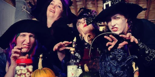Canonteign Falls Spells and Potions  Workshop and Spooky Night Walk