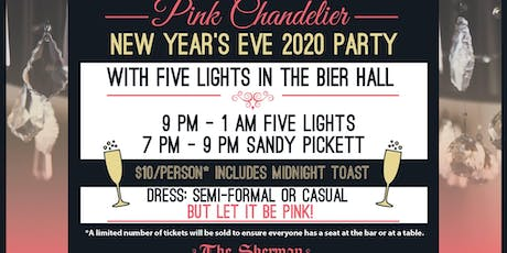 New Year's Eve Party with Five Lights in the Bier Hall tickets