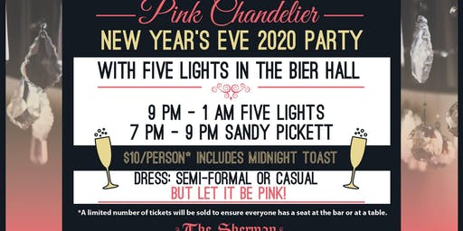 New Year's Eve Party with Five Lights in the Bier Hall