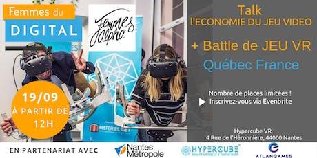 FDOuest | Talk L'économie du jeu vidéo + battle de jeu en réalité virtuelle billets