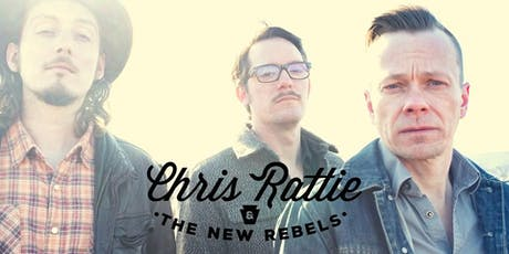 Chris Rattie & The New Rebels w/ The Backsliders, Regina Hexaphone tickets