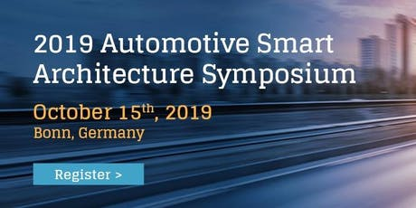 2019 Automotive Smart Architecture Symposium tickets