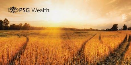 PSG Wealth | AgriSA presentation tickets