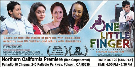 ONE LITTLE FINGER (Northern California Red Carpet Premiere) tickets