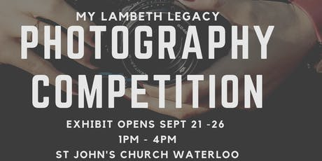 Waterloo & Southbank Heritage Society: My Lambeth Legacy - The Exhibition tickets