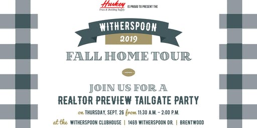 Witherspoon REALTOR Tailgate Lunch & Home Tour