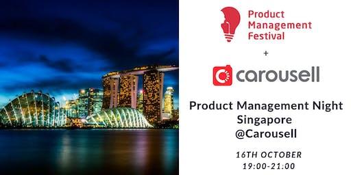 Product Management Night Singapore @Carousell