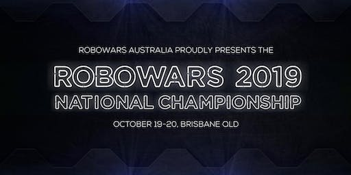 Australian Robowars Nationals 2019: Session 2 - Saturday 11:30am
