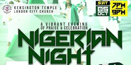KTLCC 59th Nigerian Night Celebration tickets