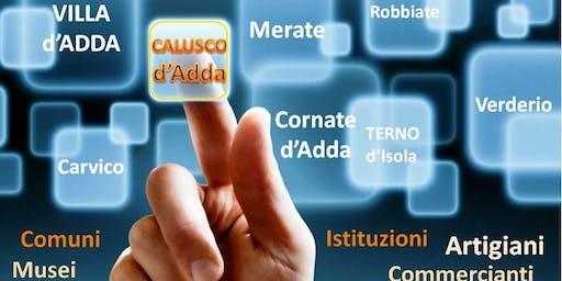 Presentazione Calusco Digitale  Speciale Associazioni - Lunedì 25 Novembre