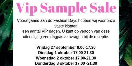 VIP Sample Sale Fransa & B-Young  tickets
