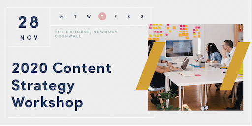 2020 CONTENT STRATEGY WORKSHOP