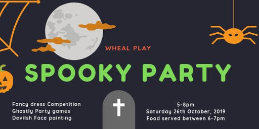Wheal Play Spooky Party