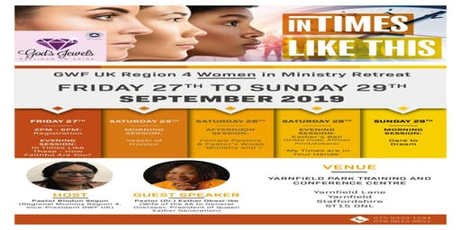 "GWF ""Women In Ministry"" Retreat 2019"