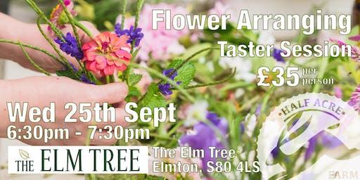 Elm Tree Flower Arranging Taster Session