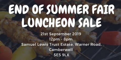 Can - End of Summer Fair LUNCHEON tickets