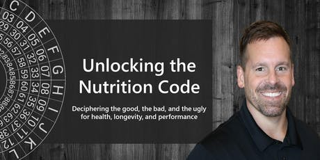 Unlocking the Nutrition Code tickets