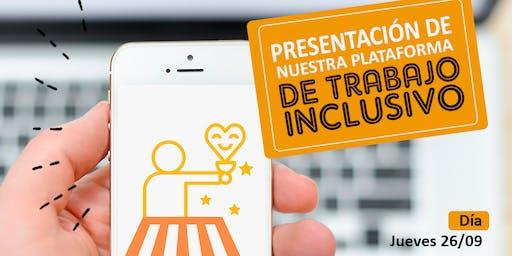Presentación de IncluMarket web de trabajo inclusivo