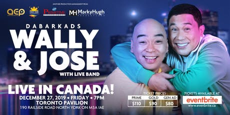 JOSE AND WALLY  LIVE IN TORONTO CANADA tickets