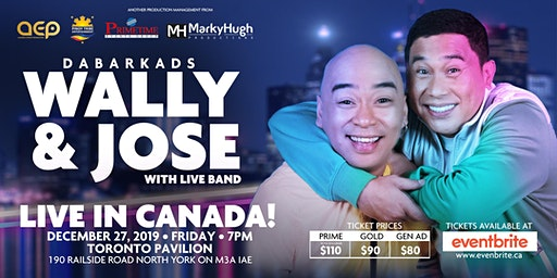 JOSE AND WALLY  LIVE IN TORONTO CANADA