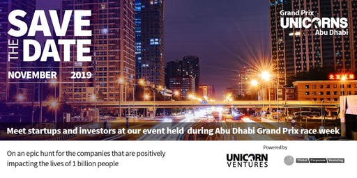 Startup Investor Casting Pitch Event - Abu Dhabi Unicorns