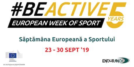 European Week of Sport - BeActive at enduranch sports club tickets