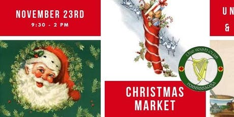Irish Club of Mississauga Christmas Marketplace tickets