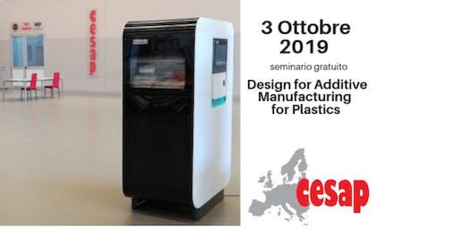 La Metodologia del  Design for Additive Manufacturing for Plastics.