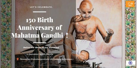 150 years of the Mahatma Tickets